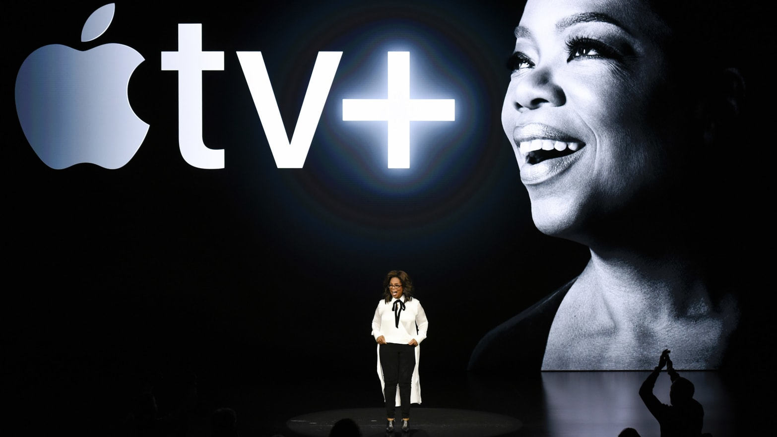 Apple Event 2019: Steven Spielberg, Oprah, Reese Witherspoon and More Unveil New TV Shows for Apple+ Streaming Service