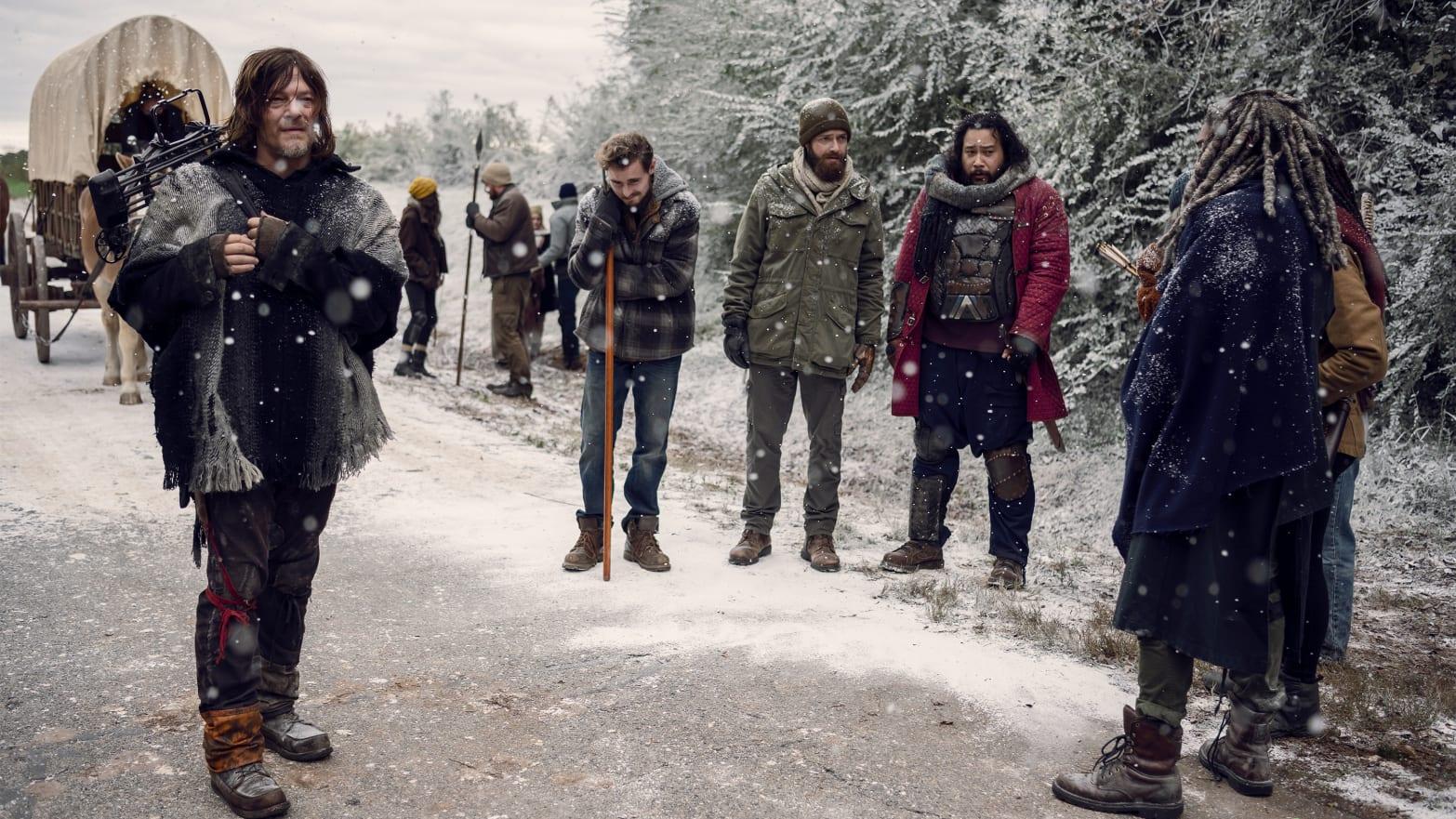 The Walking Dead Season 9 Finale Winter Comes For Twd