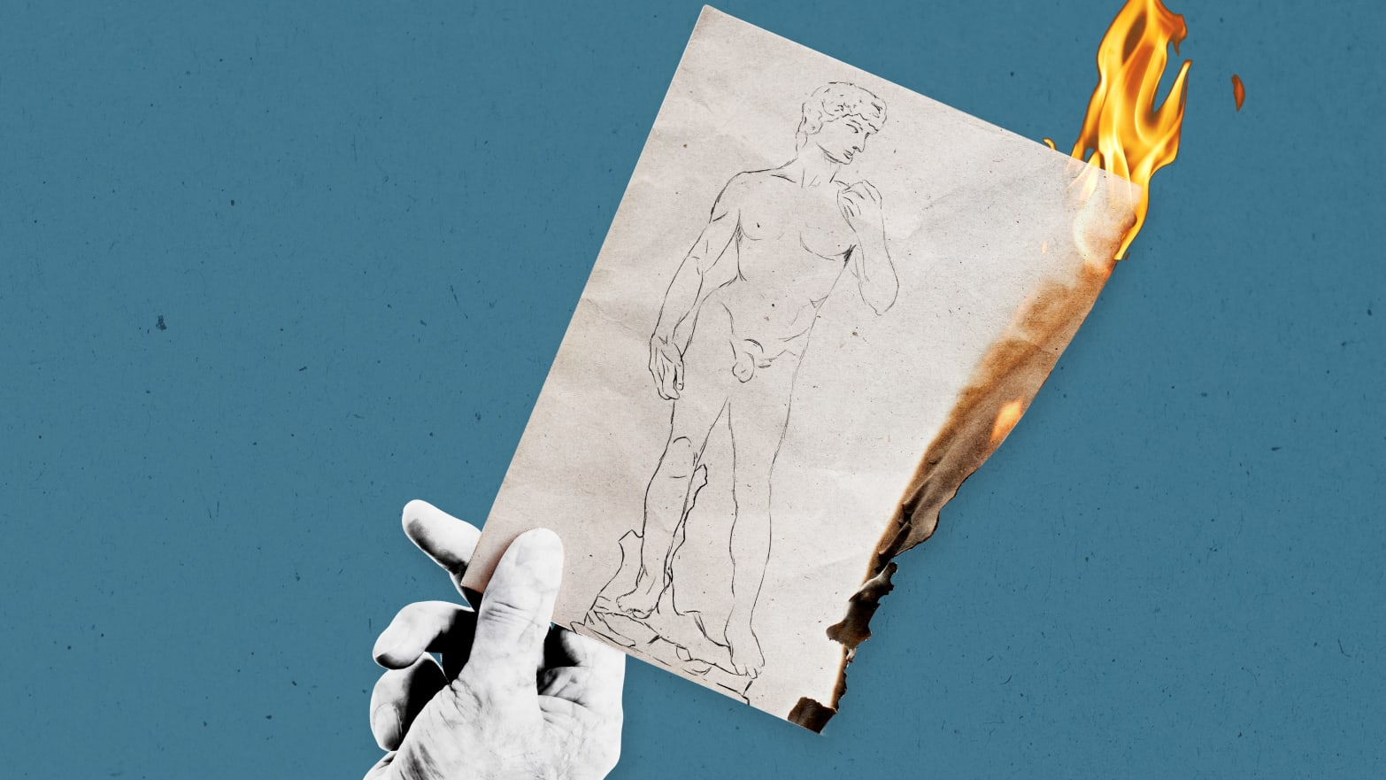 The Mystery of Why Michelangelo Burned His Sketches Just Before He Died