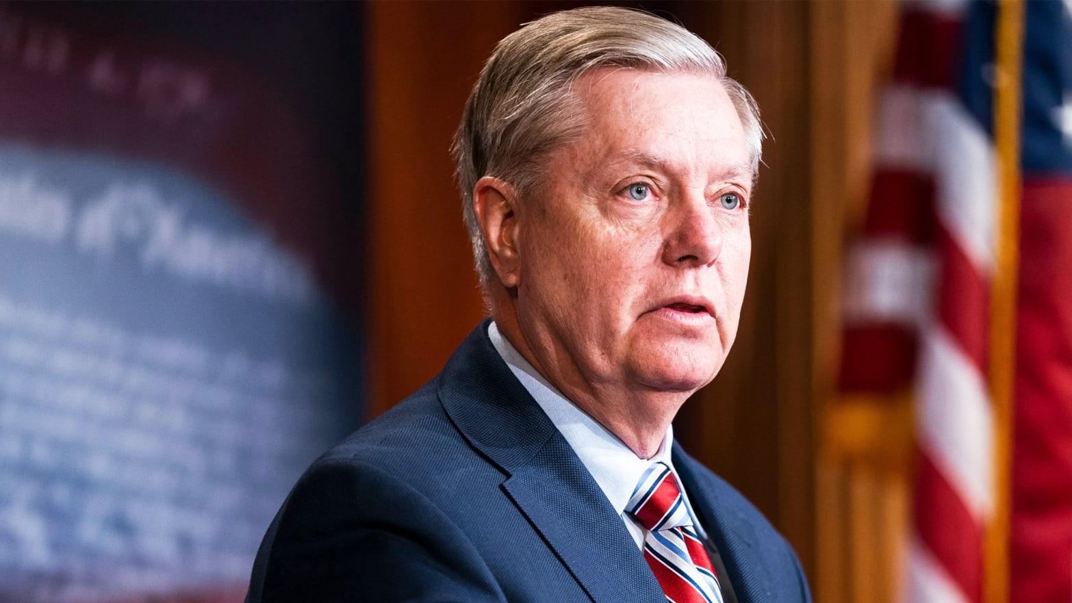 Sen. Lindsey Graham Bewilders Ivanka Trump's Women's Conference With Terrorism Rant