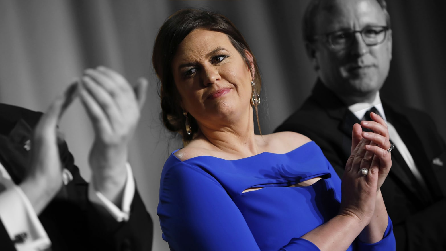 Sarah Huckabee Sanders Should Beg Michelle Wolf for Forgiveness