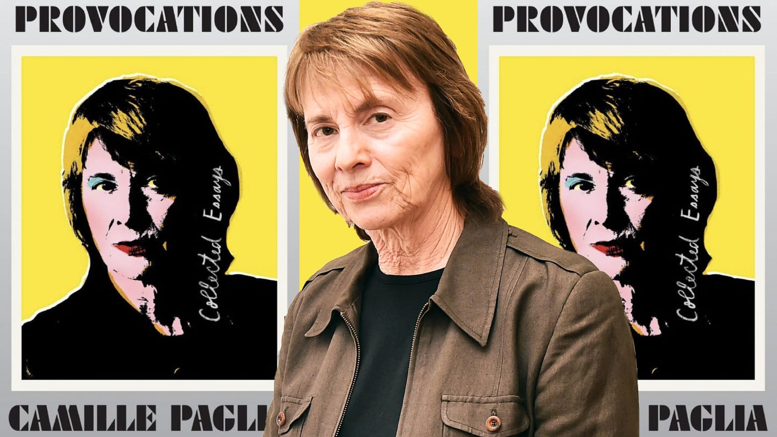 Camille Paglia Wants to Provoke, but Mostly She Just Irks Us