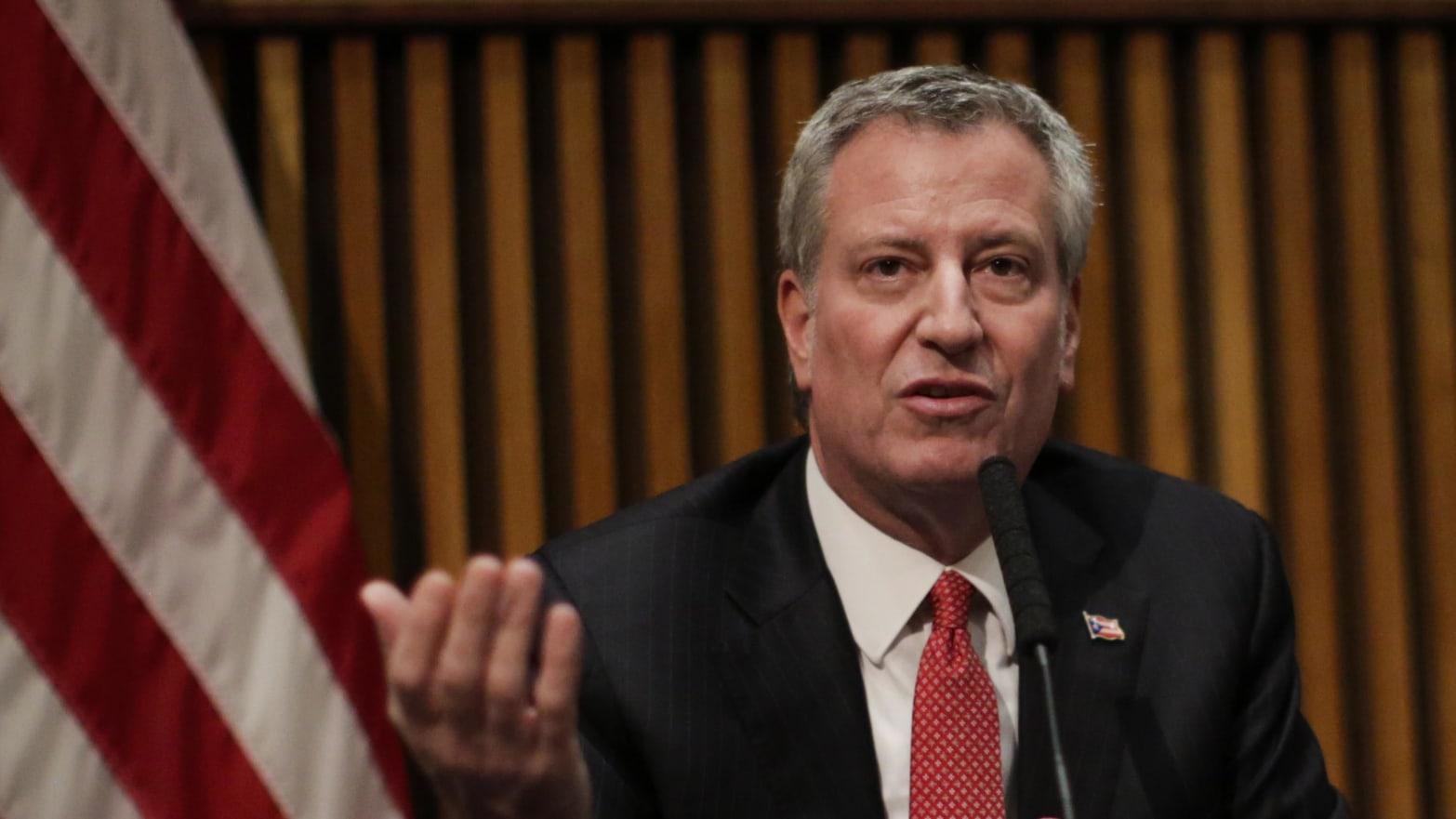 NYC Mayor Bill de Blasio Unites the Nation: No One Wants Him to Run for President