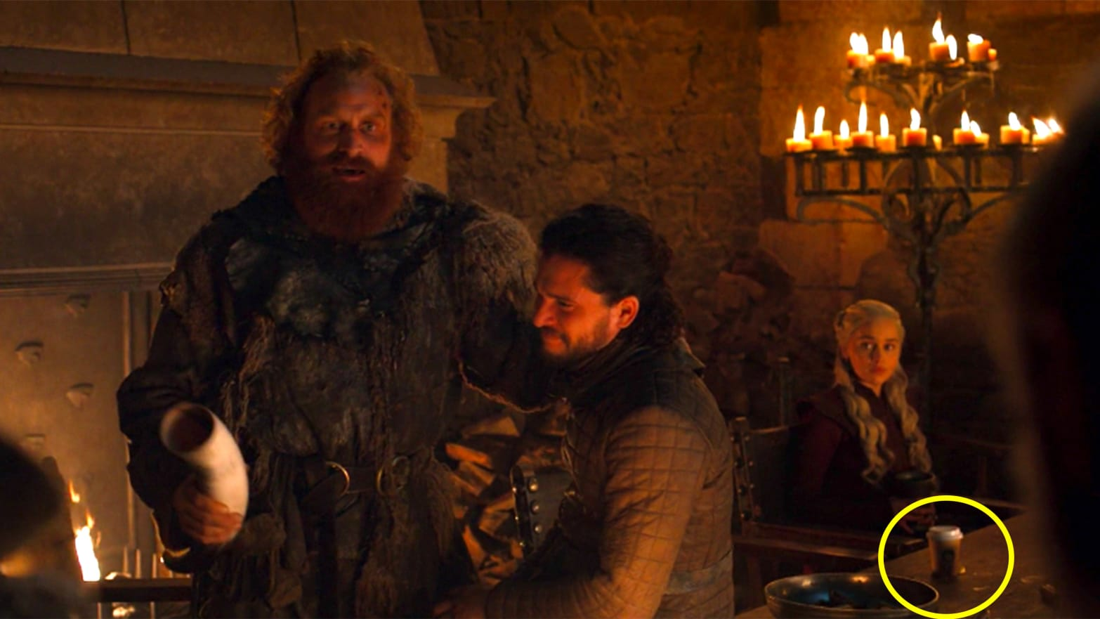 Game Of Thrones Left A Starbucks Coffee Cup In A Scene And