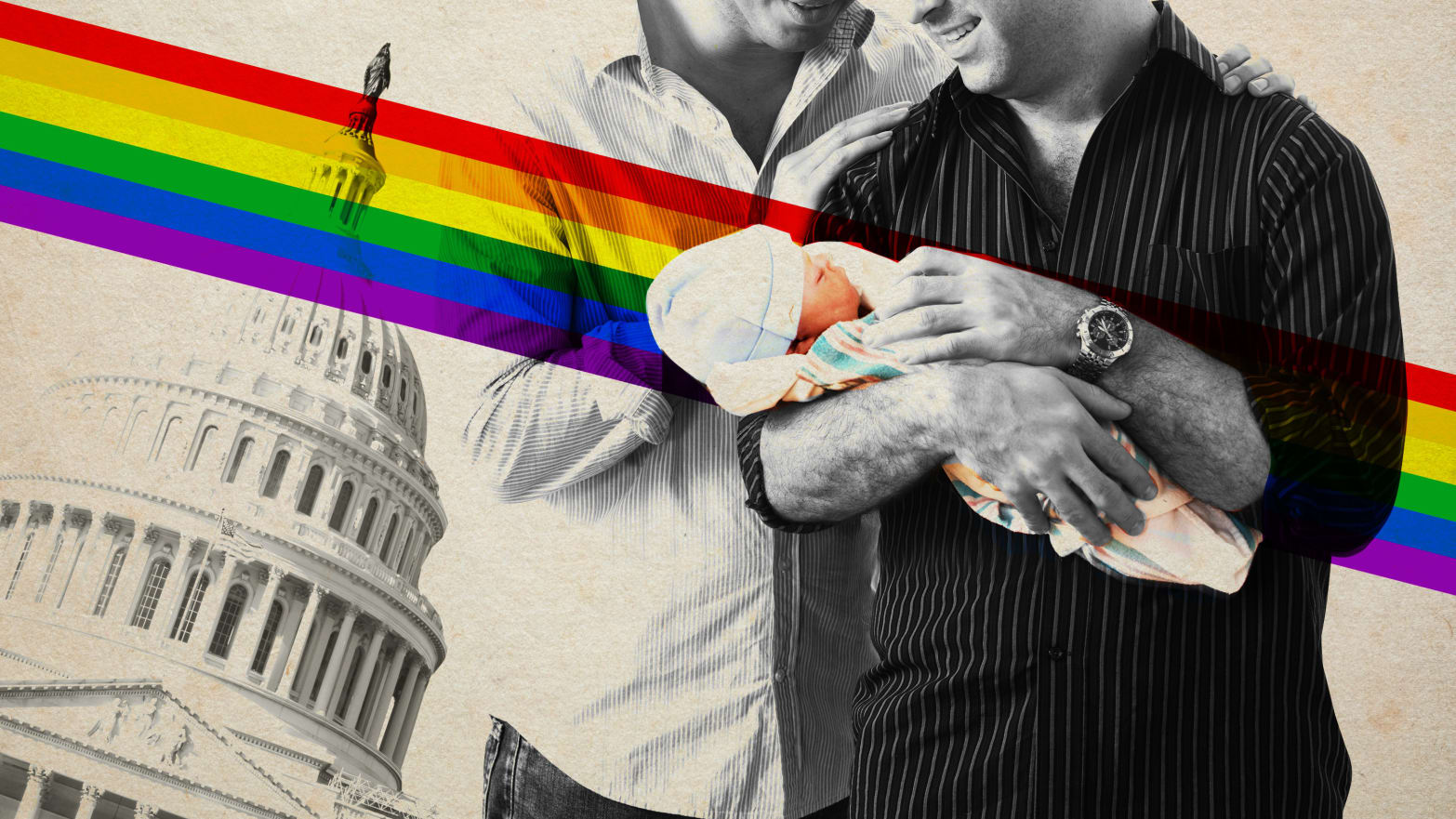 The Absurd: Trump Administration to LGBT Couples: Your 'Out of Wedlock' Kids Aren't Citizens Asd_xgnwzt