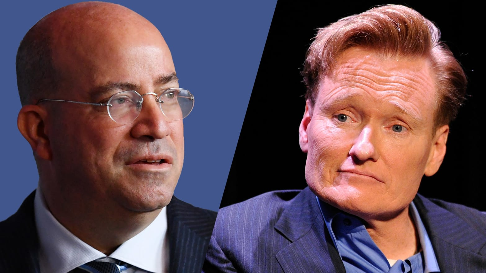Conan O'Brien Takes a Shot at His Old Nemesis Jeff Zucker