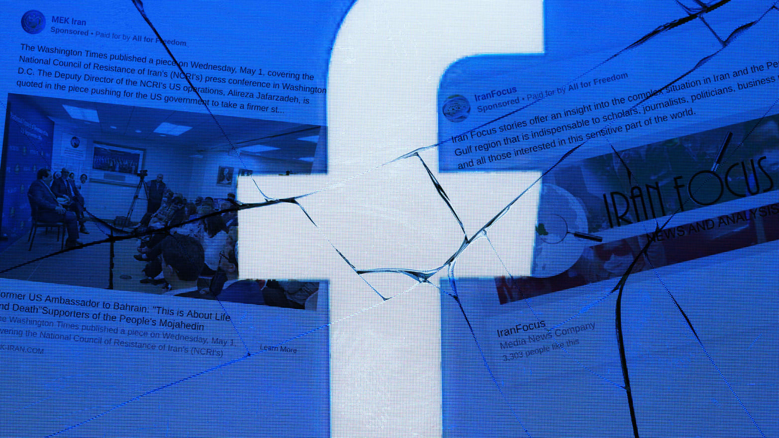 A Shady Facebook Campaign Is Stoking the Iran-U.S. Conflict