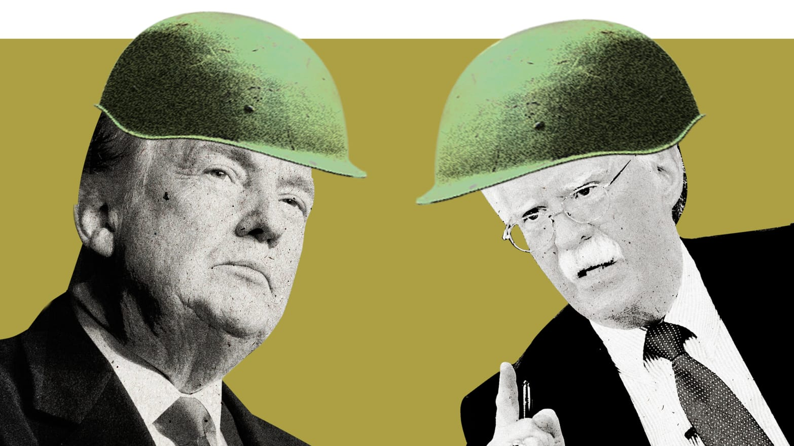 President John Bolton Tries to Start a War. Can Little Donald Trump Stop Him?