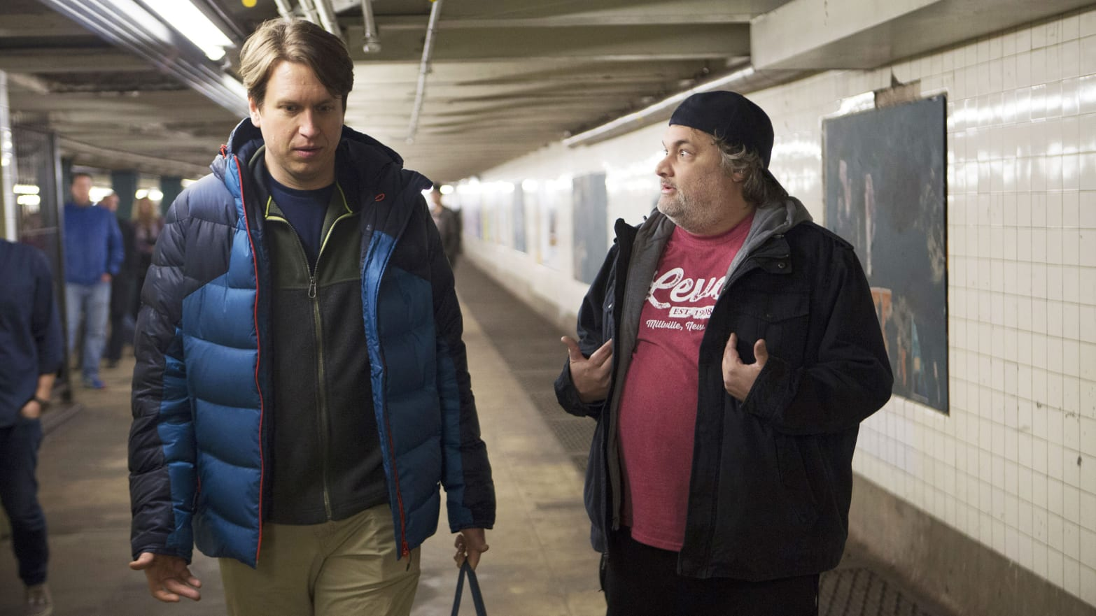 Pete Holmes: Artie Lange Was 'Coming Undone' by End of HBO's 'Crashing'