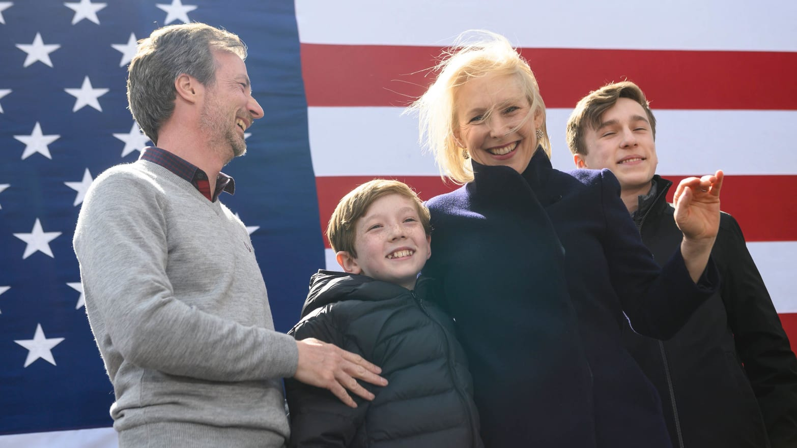 Sen. Kirsten Gillibrand Unveils First 100 Day Plan