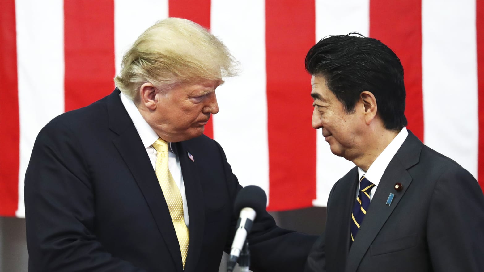 Not So Fast, Shinzo Abe! Trump's Tricky Bromance With Japan's PM