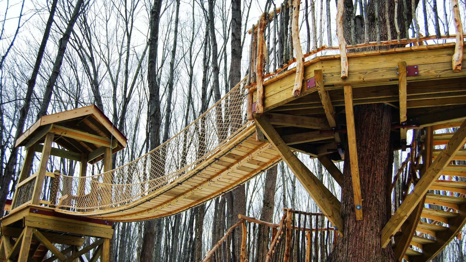 Treehouse Mania Has Hit Ohio. And It's Amazing.