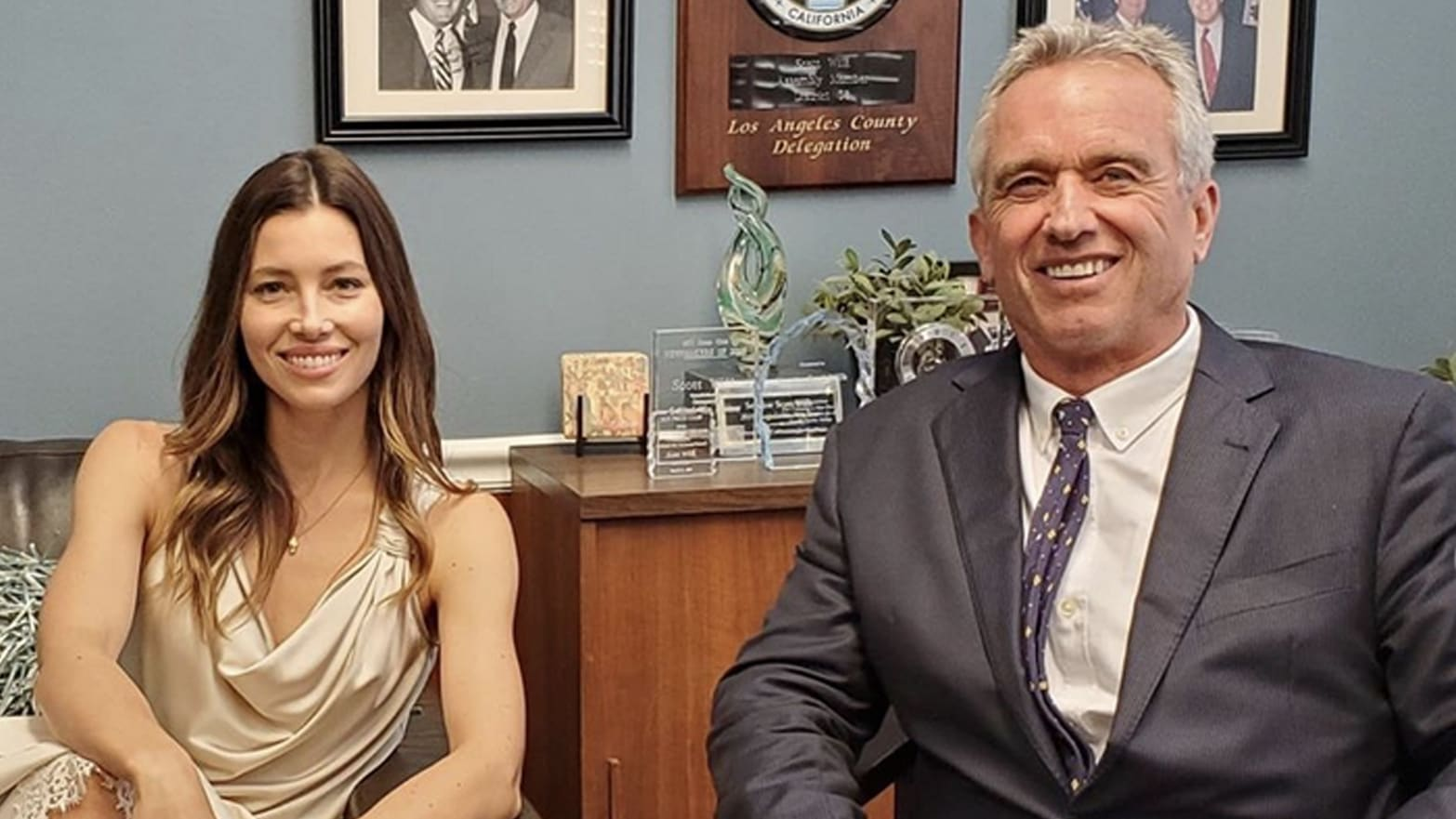 Anti Vaccine Activists Have Taken >> Jessica Biel Joins Robert F Kennedy Jr To Lobby Against Ca