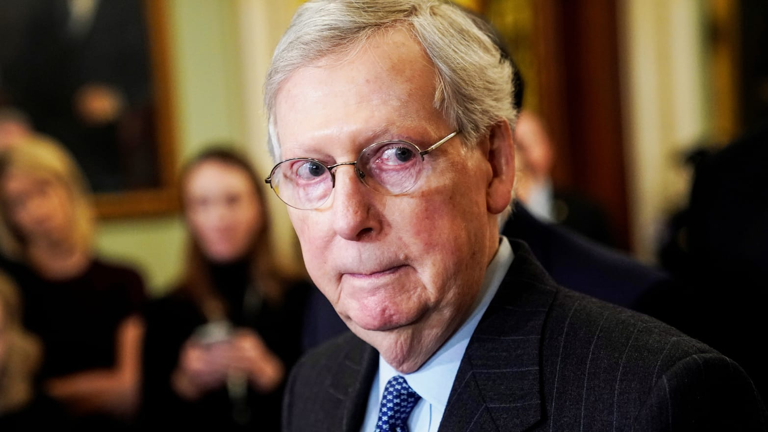 Trump Welcomes Foreign Election Interference—but McConnell Makes It More Likely