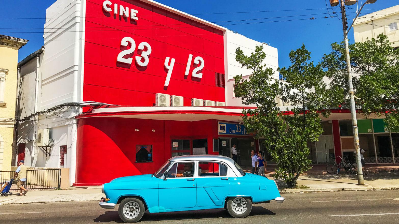 Cuba's Old Movie Theaters Make Delightful Destinations