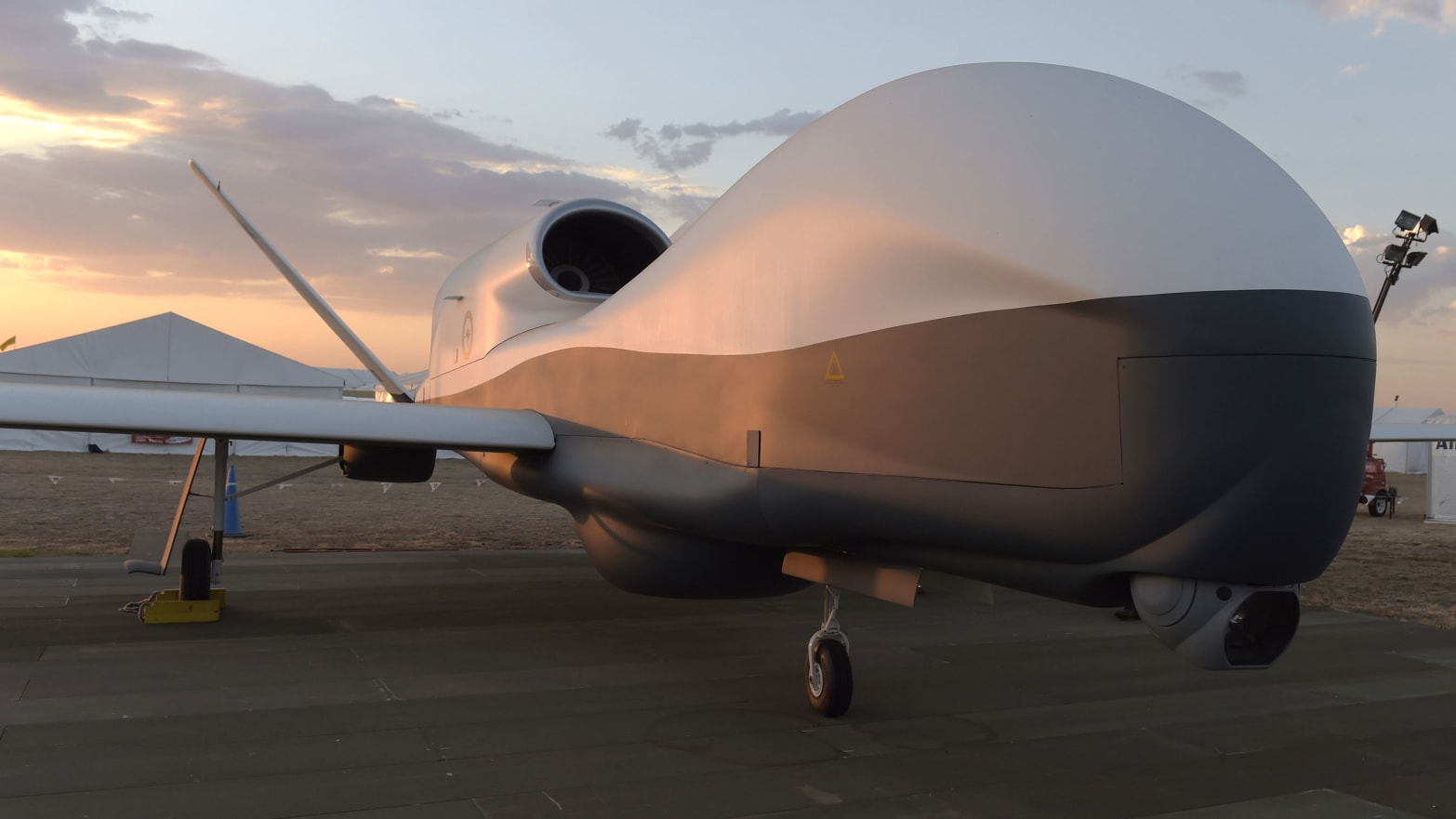 BAMS-D Drone Shot Down by Iran Is a $200 Million Prototype