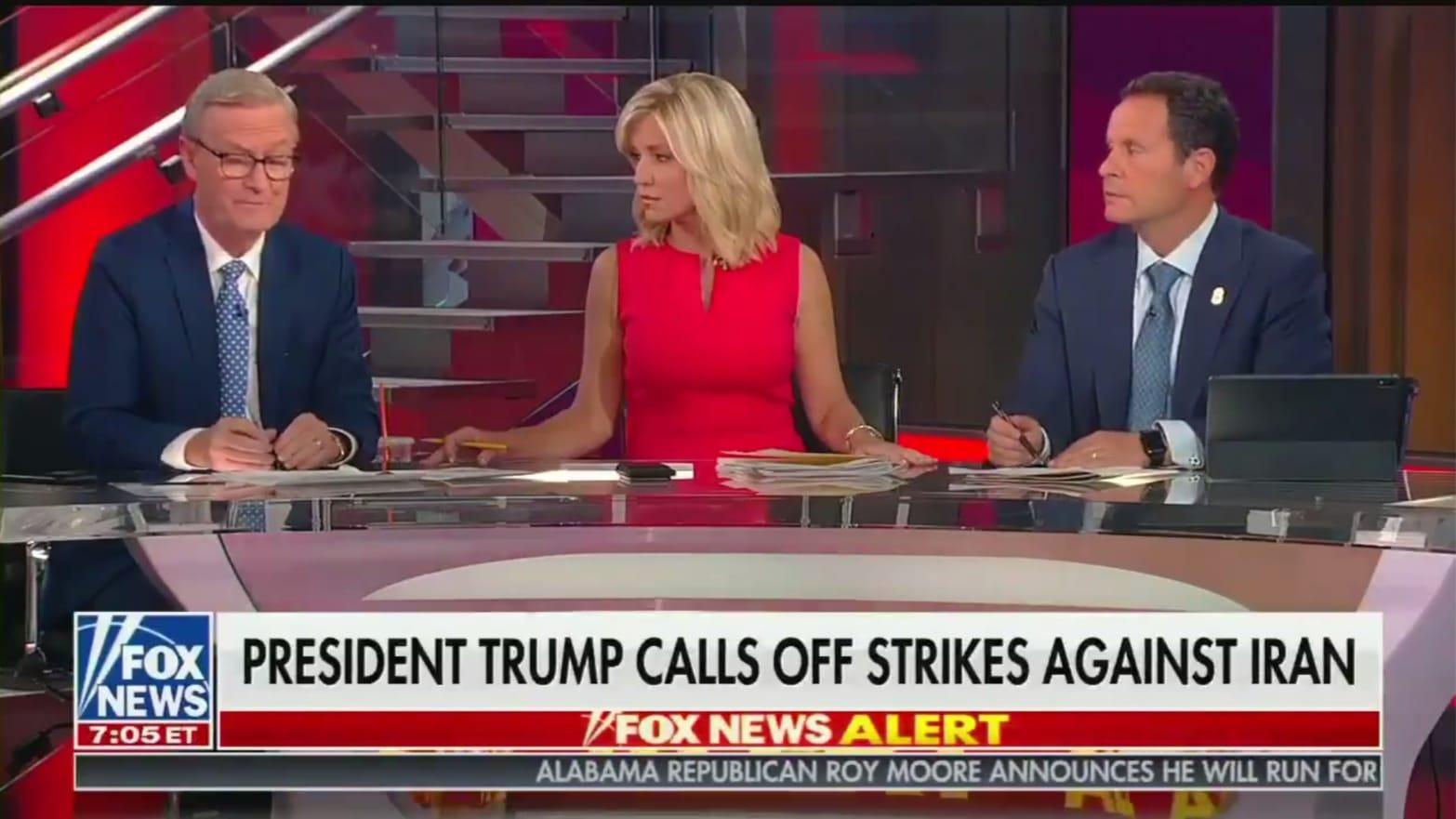 Fox & Friends' Calls Donald Trump 'Weak,' Tries to Goad Him