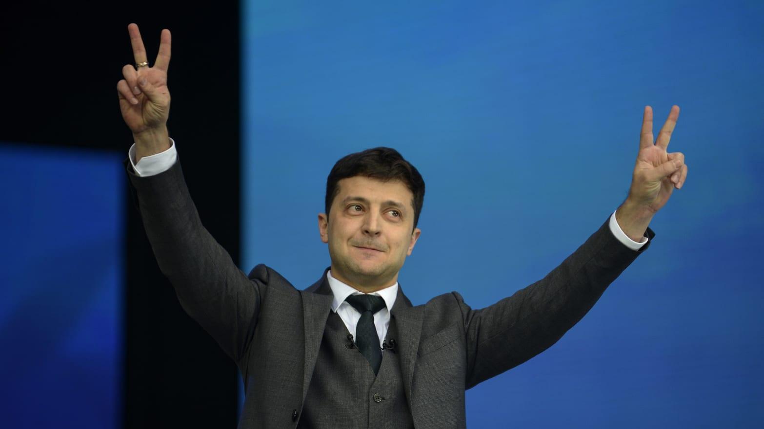 Can Ukraine's Comedian President Volodomyr Zelensky Seriously Shake Things Up?