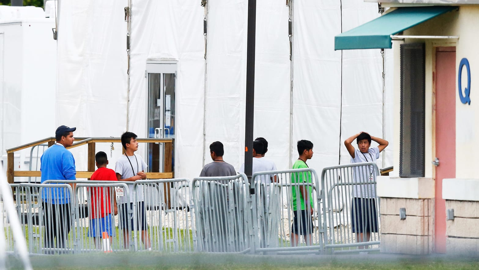 Trump Sees Dire Migrant Detention Conditions as Messaging Problem