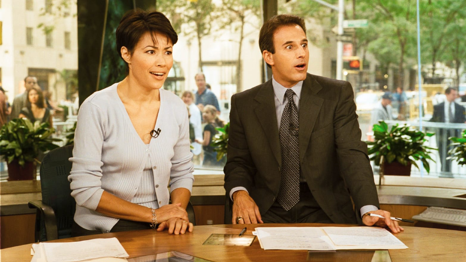 NBC Producers Told to Omit Matt Lauer and Ann Curry From 'Today' Show Studio Tribute, Sources Say