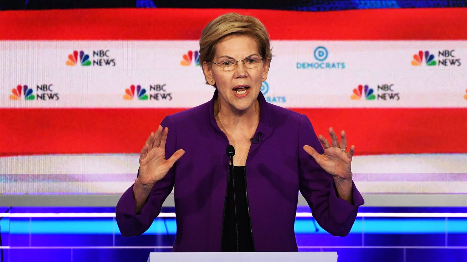 2020 Democratic Debates: First Night Begins With All Eyes on Sen. Elizabeth Warren
