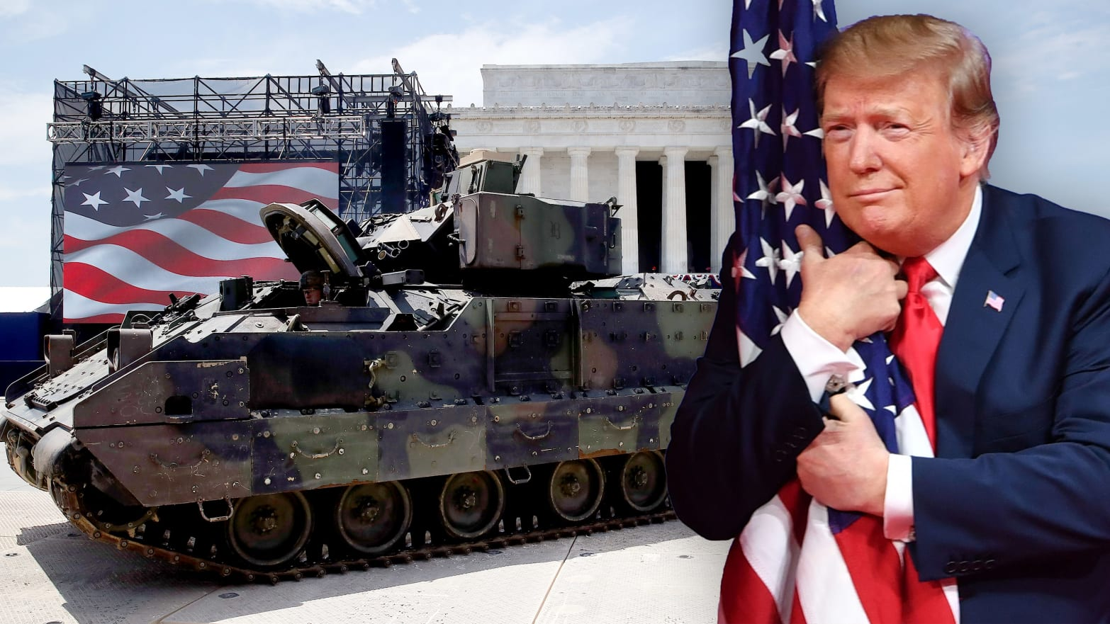 This July 4th Had Everything: Tanks, Trump—and Scandal