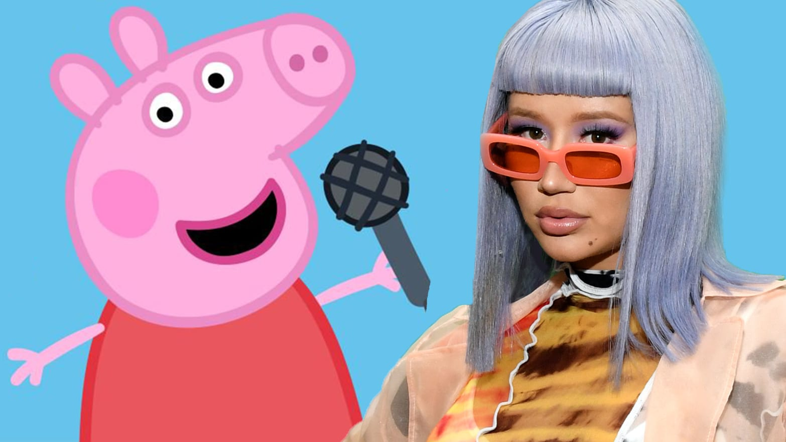 Iggy Azalea Is Back And Has A New Twitter Nemesis Peppa Pig