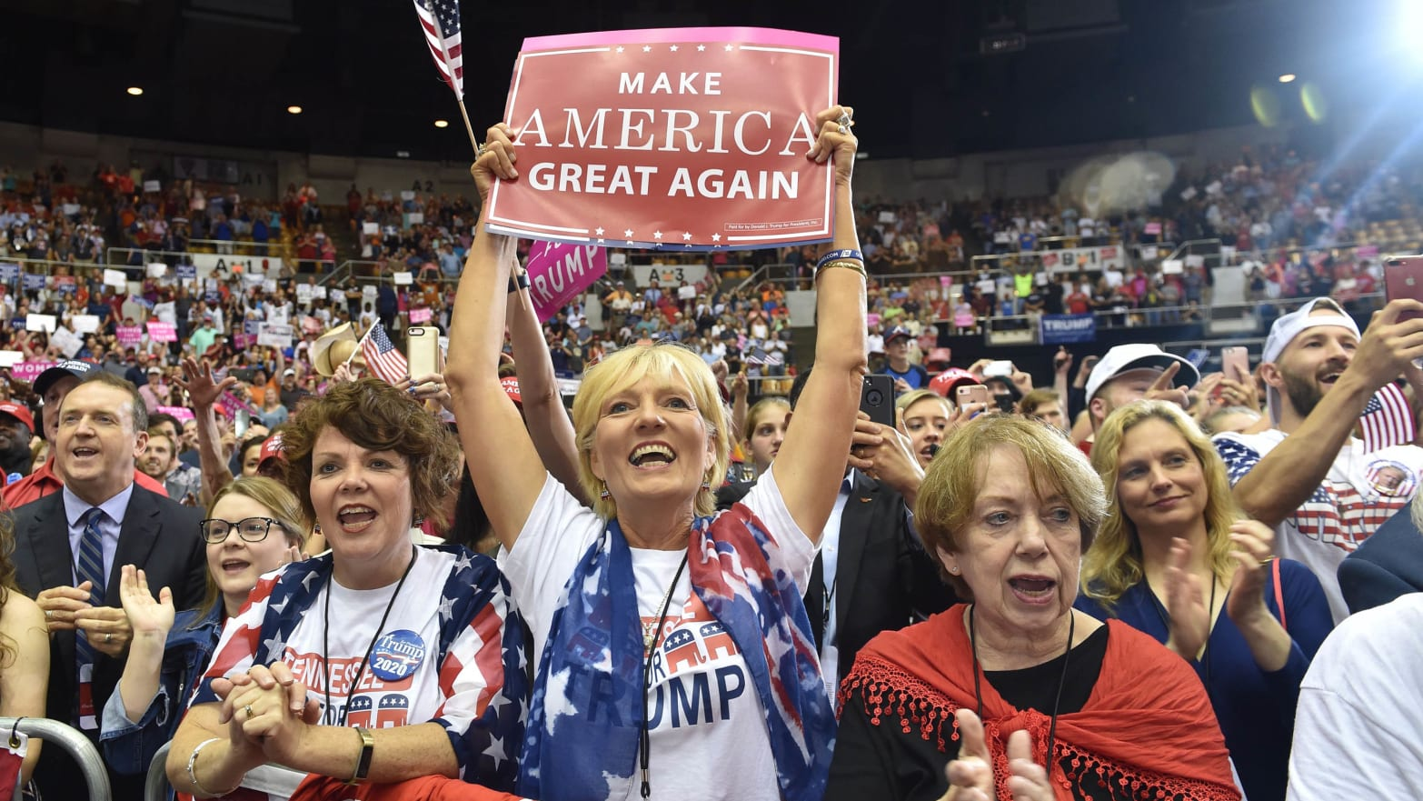 Why White Working-Class Women Are Starting to Turn on Trump