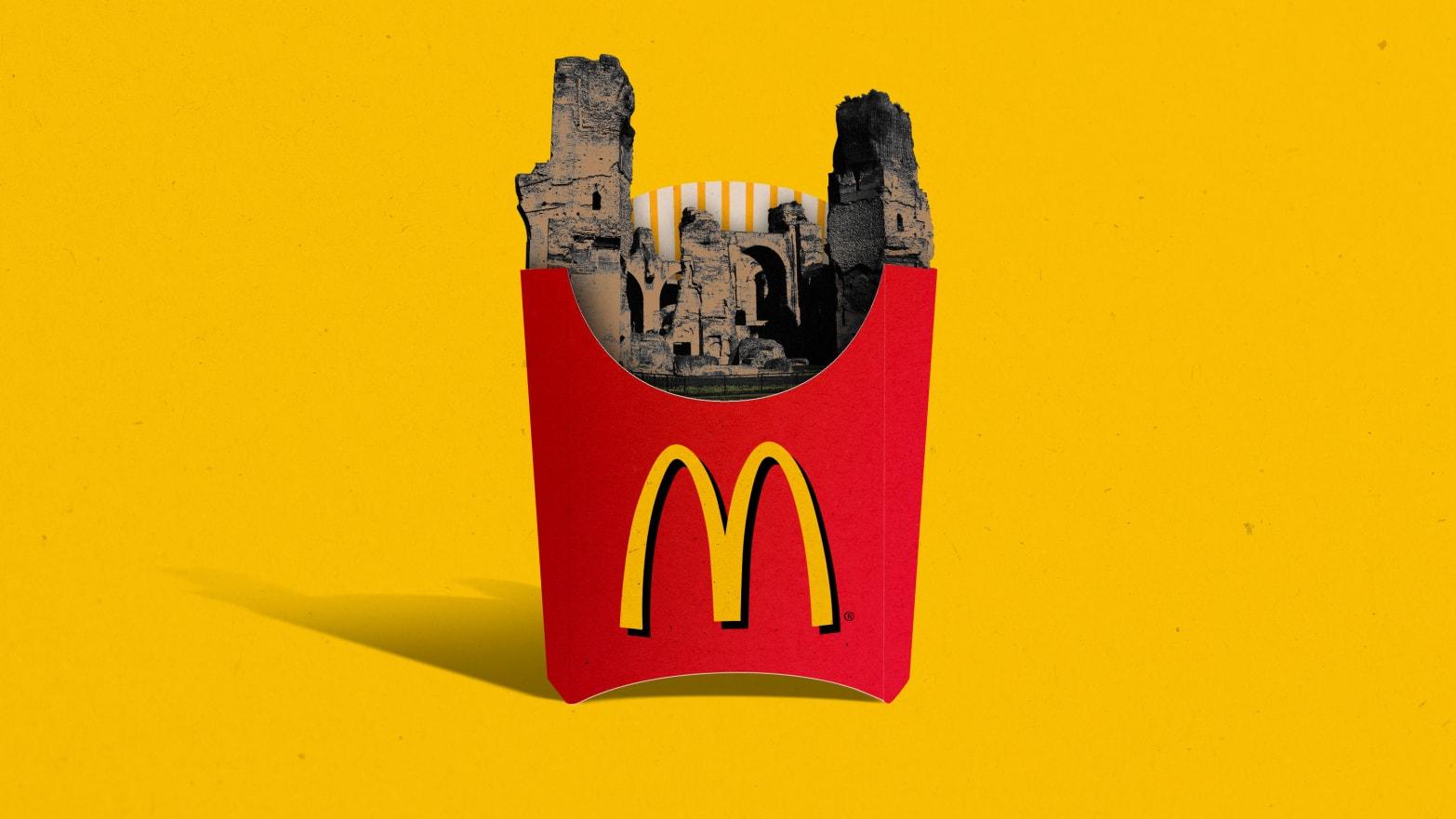 Italy Declares War on McDonald's