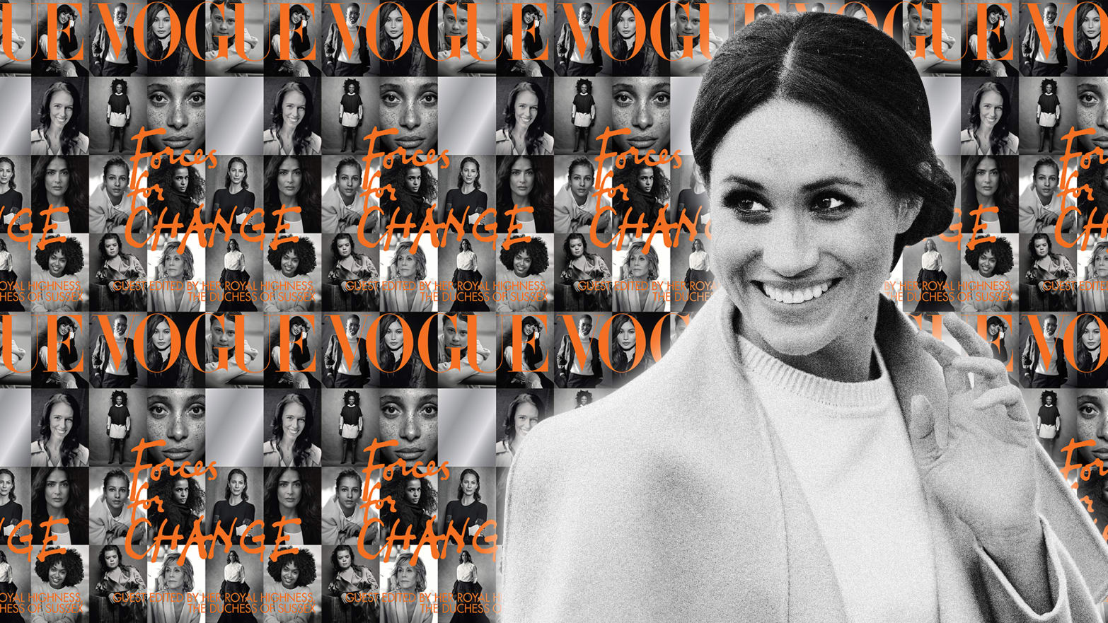 The Fashion in Meghan Markle's Vogue: Big on Serious, Low on Fun