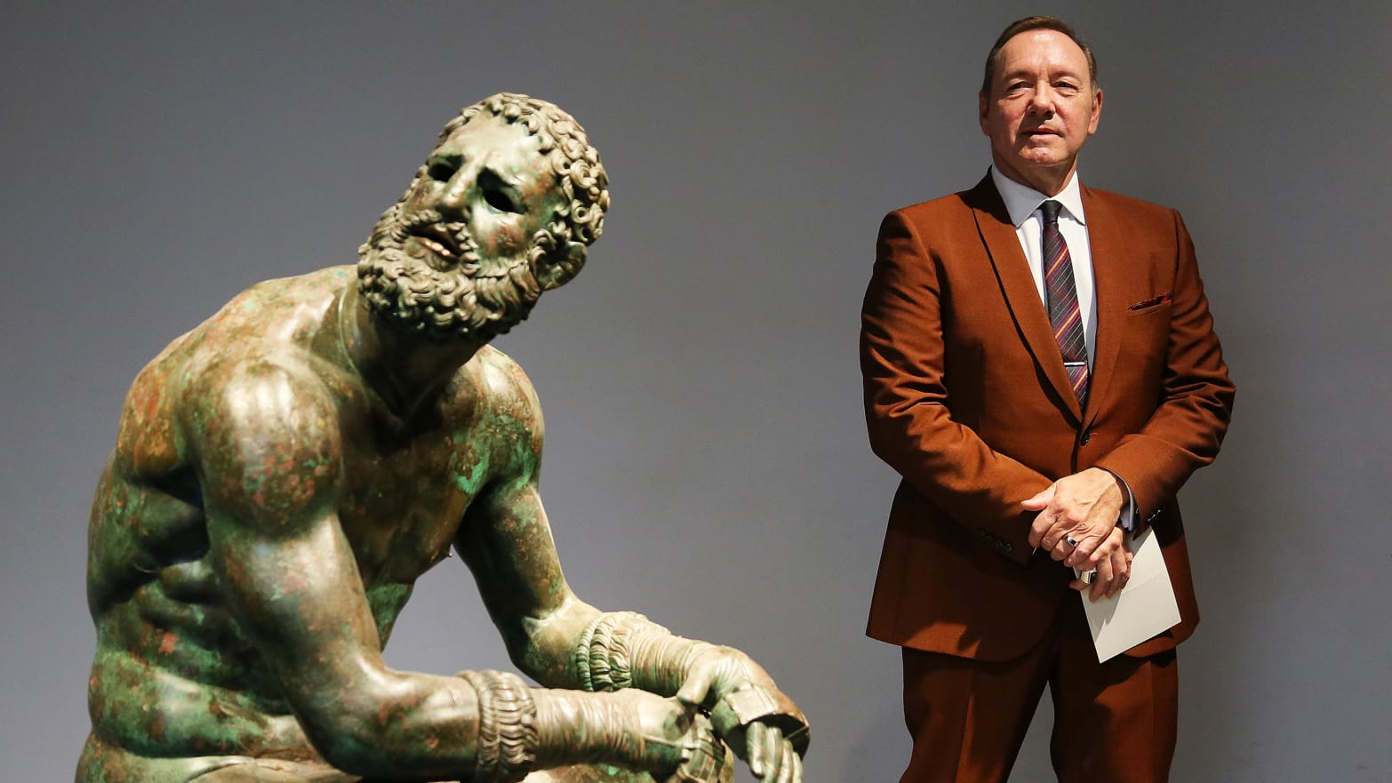 Kevin Spacey Uses Poem to Tell World: 'The More You're Wounded the Greater You Are, and the More Empty'