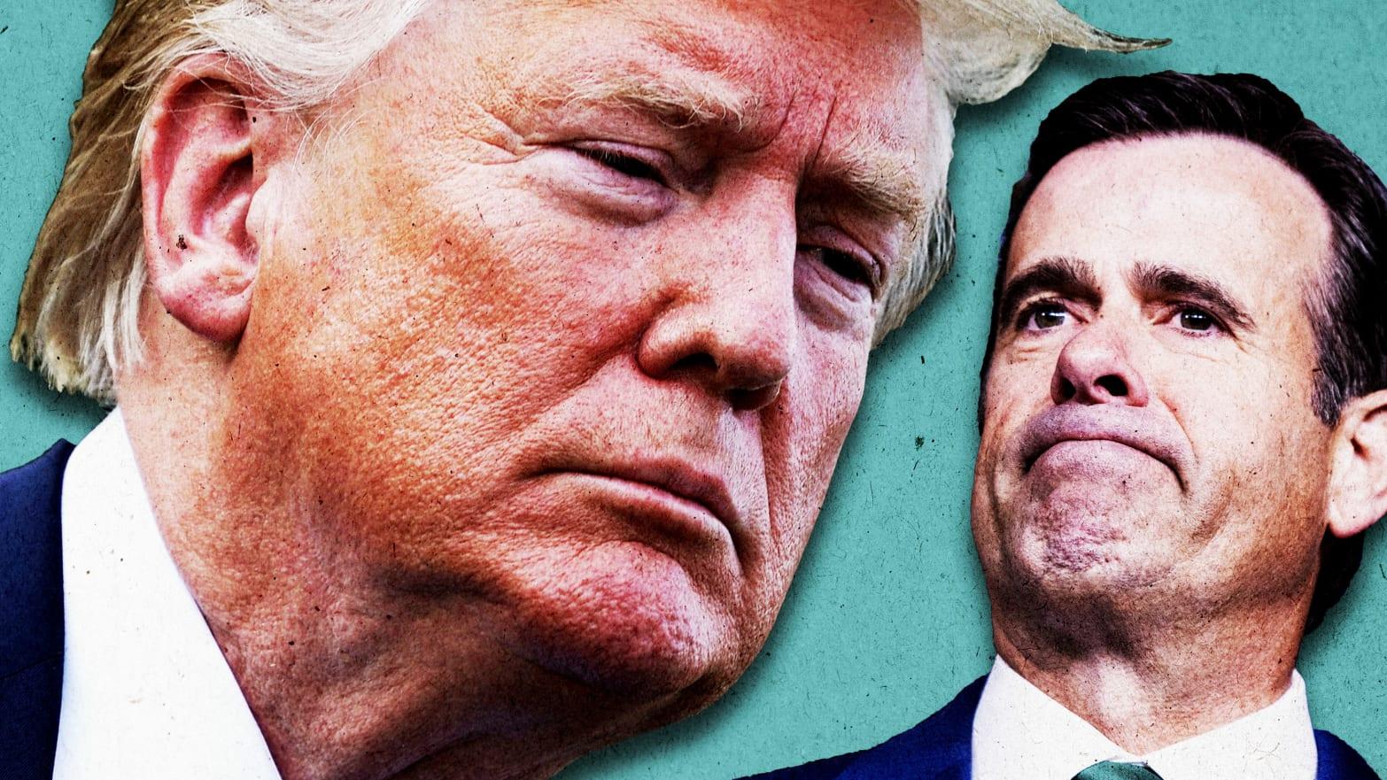 John Ratcliffe (R-Loser) Gets the Full Trump Treatment