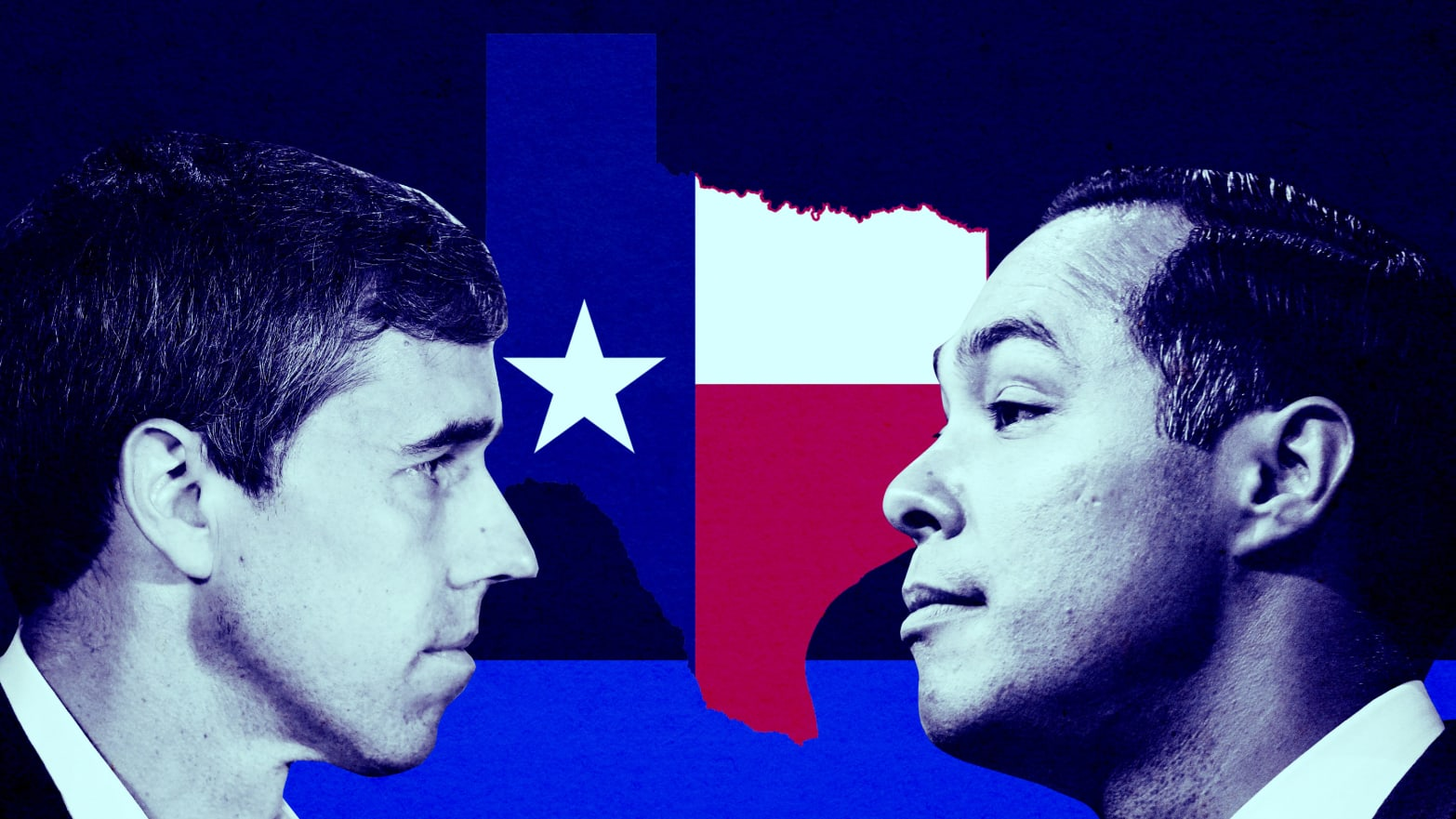 Beto O'Rourke and Julian Castro's Big Blue Dream for Flipping Texas in 2020