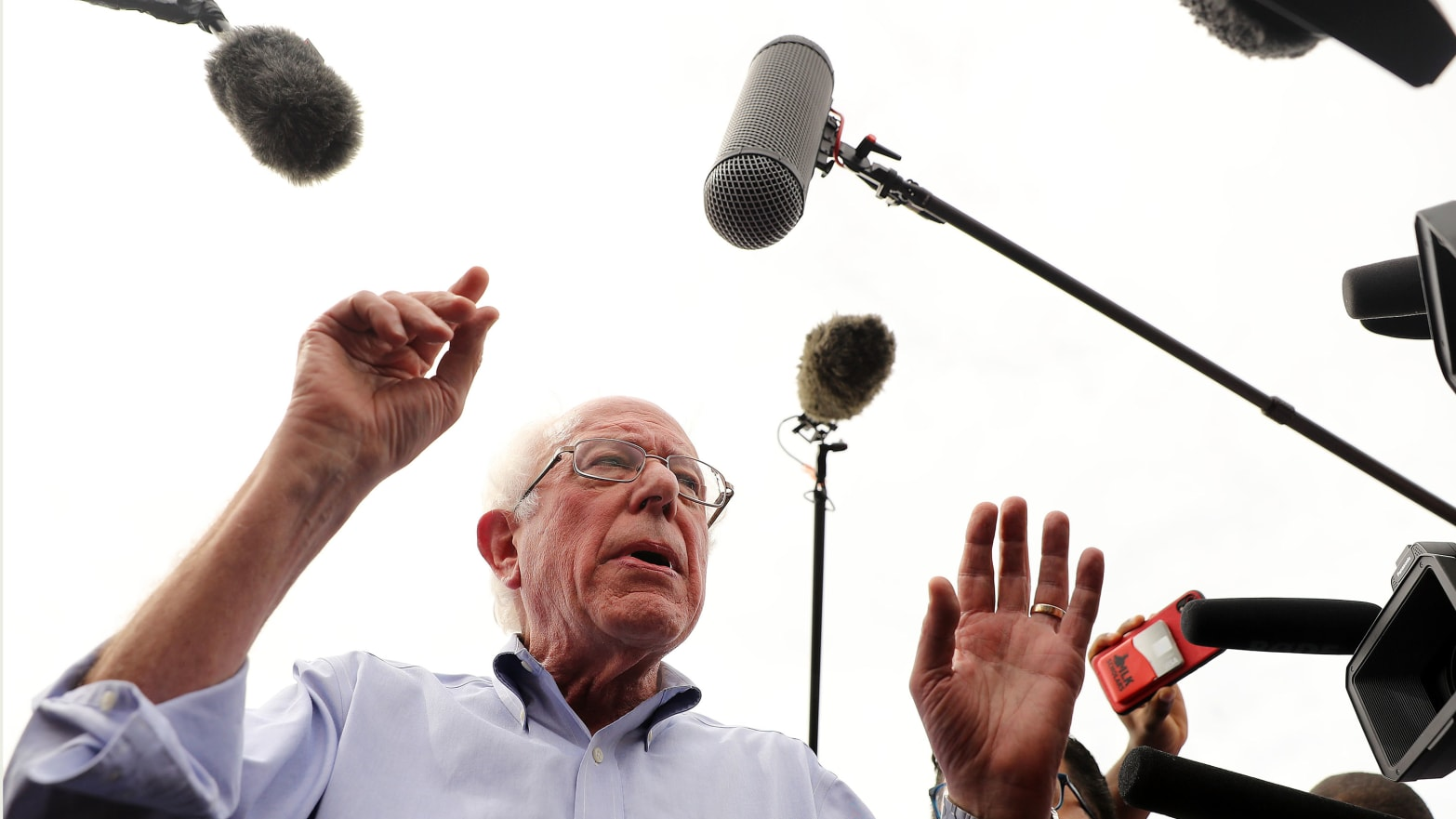 Team Bernie: The Press Has a 'Personal Bias' Against Him and Find His Supporters 'Annoying'