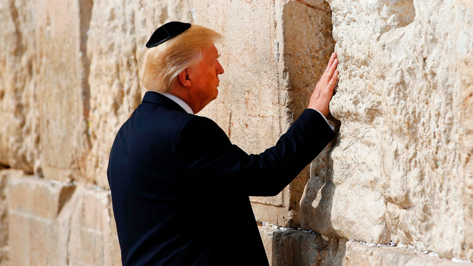 trump at western wall
