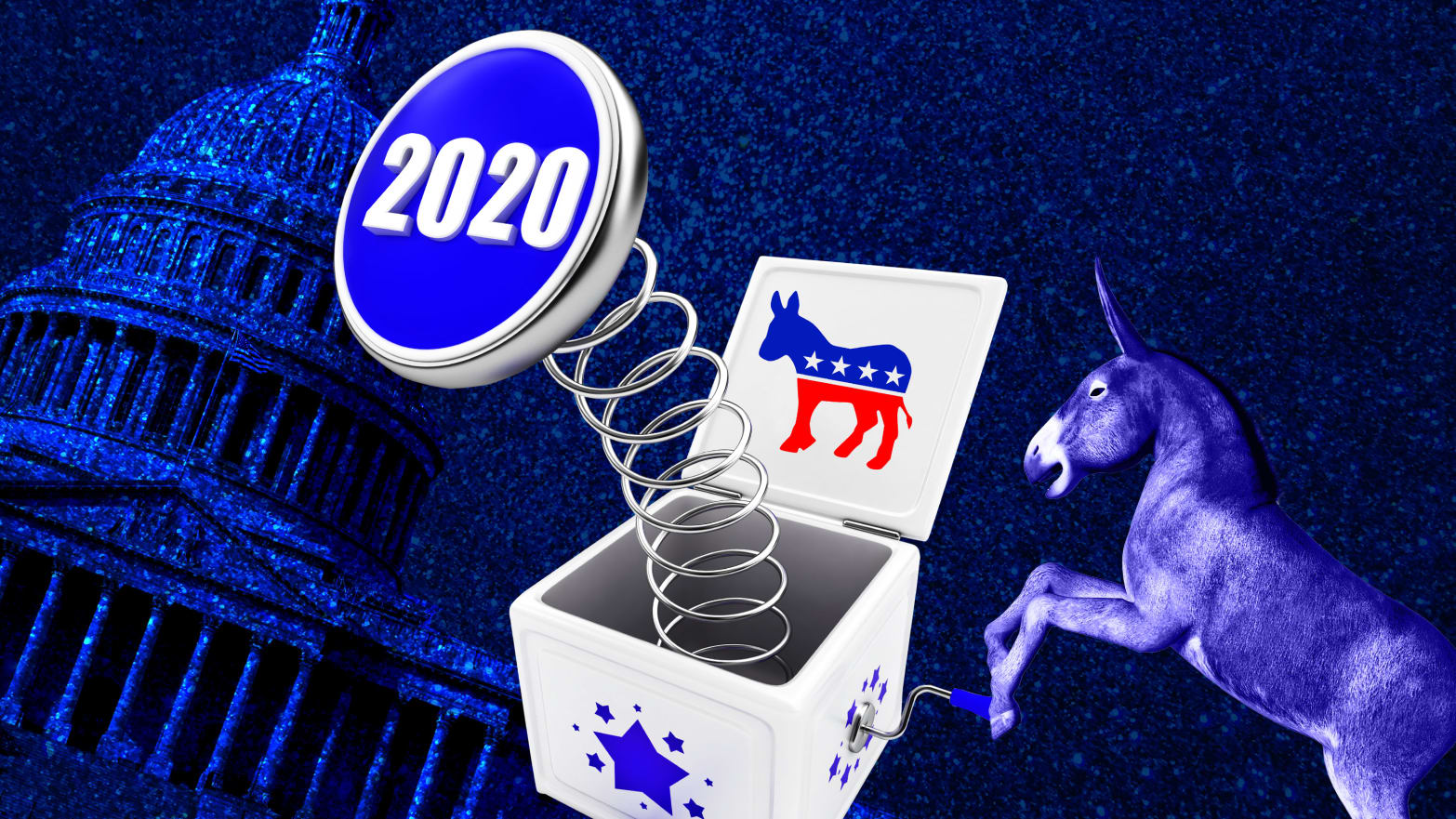 2020 Primary Panic Is in Full Swing for Struggling Democratic Candidates