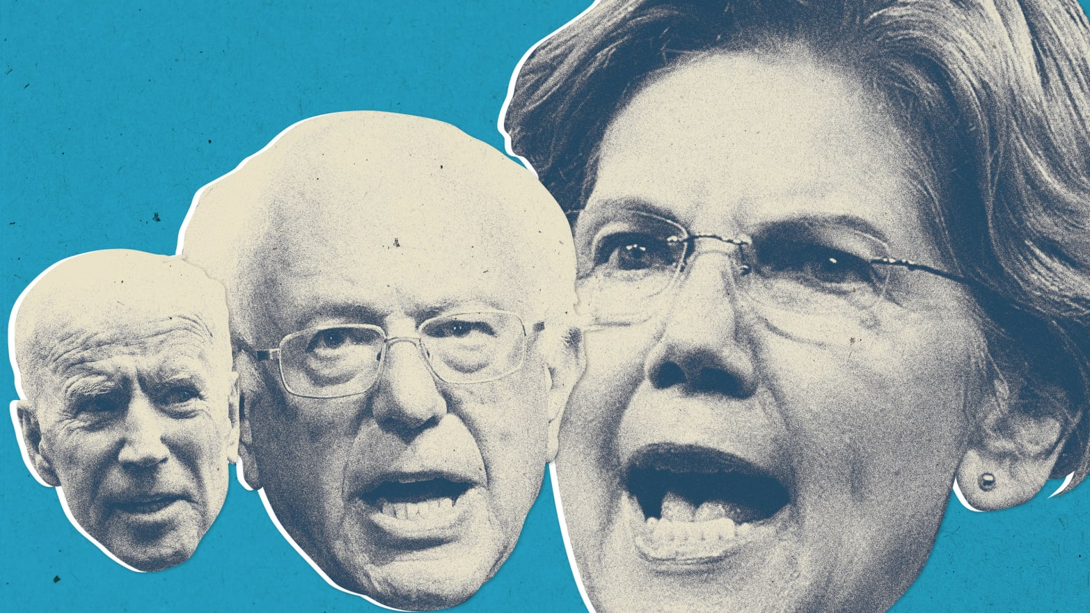 Image result for Crazy Bernie and Warren