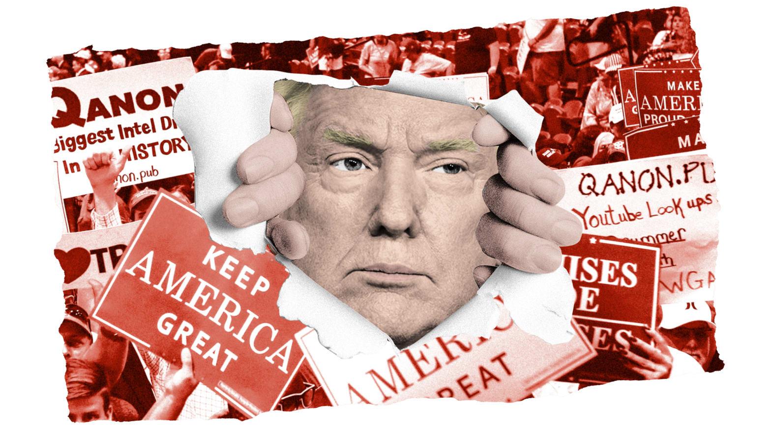 Team Trump Wrestles With Its 2020 QAnon Problem