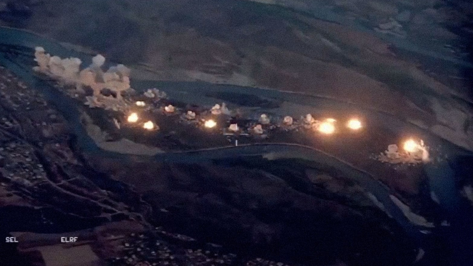 Why Did America Drop 40 Tons of Bombs on Iraq's Qanus Island?