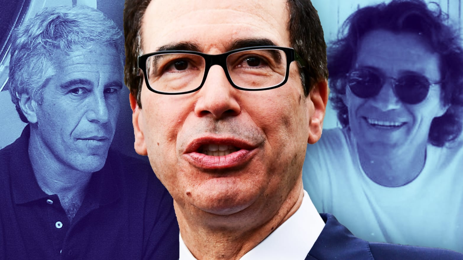 Steven Mnuchin's Mysterious Link to Creepy Epstein Model Scout Jean-Luc Brunel