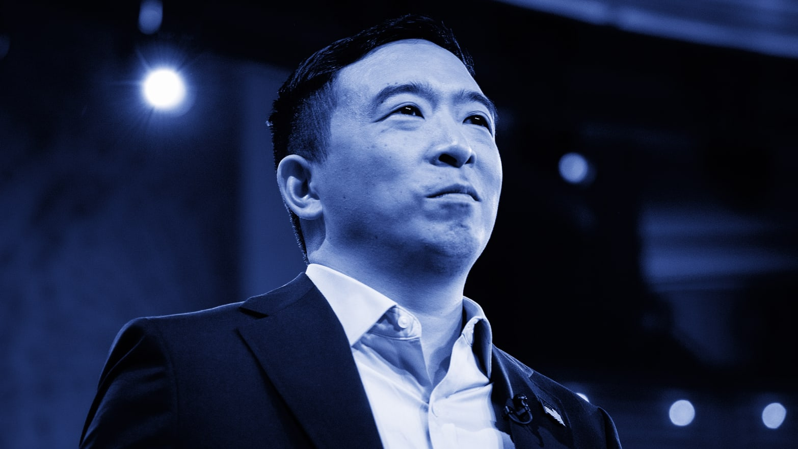 Andrew Yang's Dumb Democratic Debate Gimmick Stepped on His Own Important Message