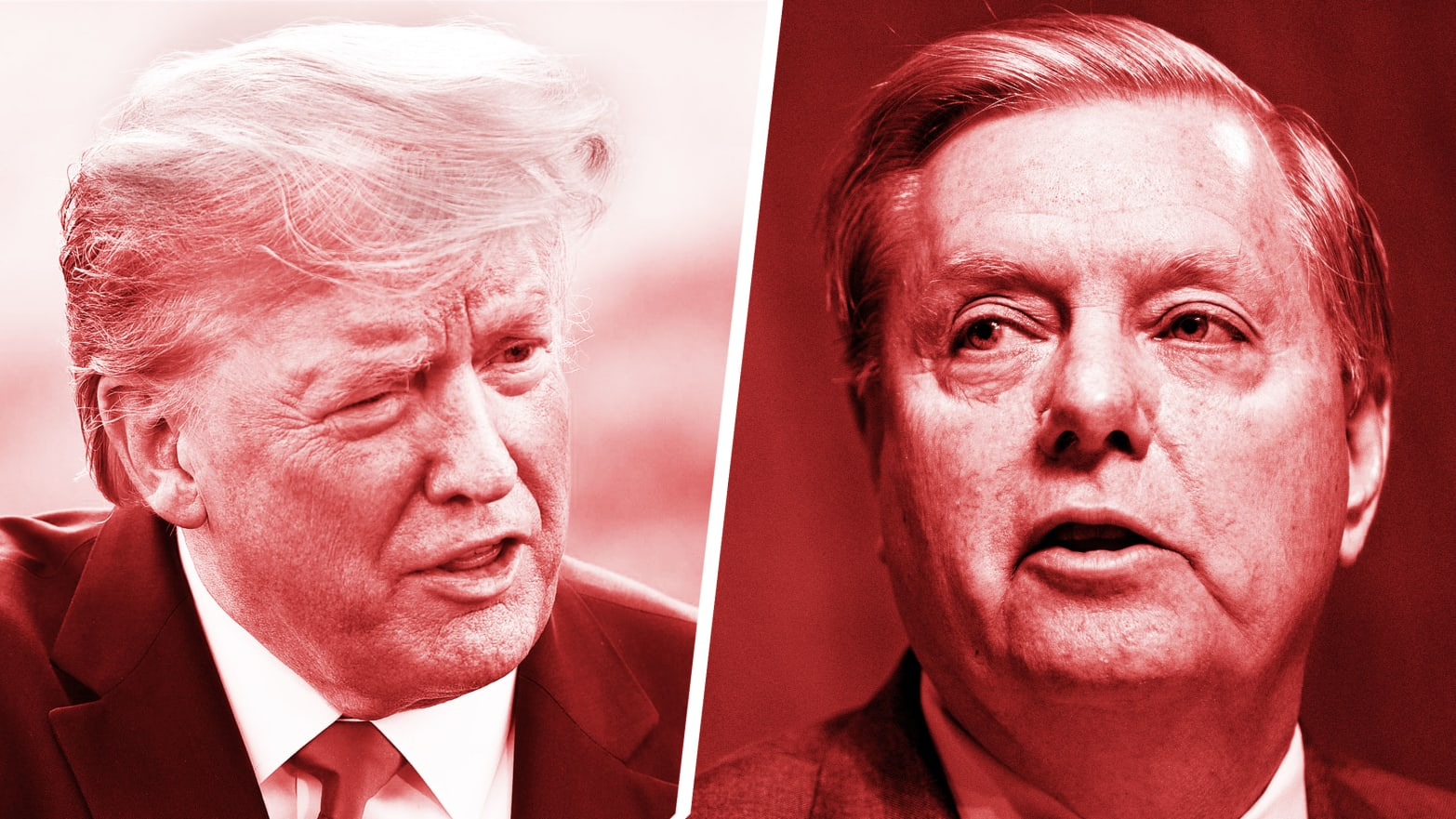 Trump Feuds With Lindsey Graham Over 'Weak' Iran Policy