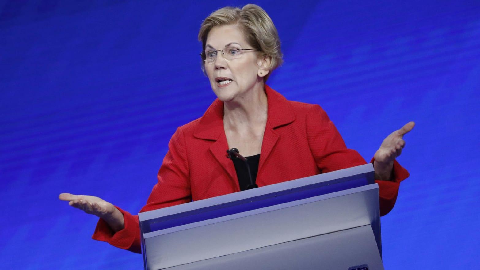 Elizabeth Warren's 2020 Democratic Rivals Start to Turn on Her