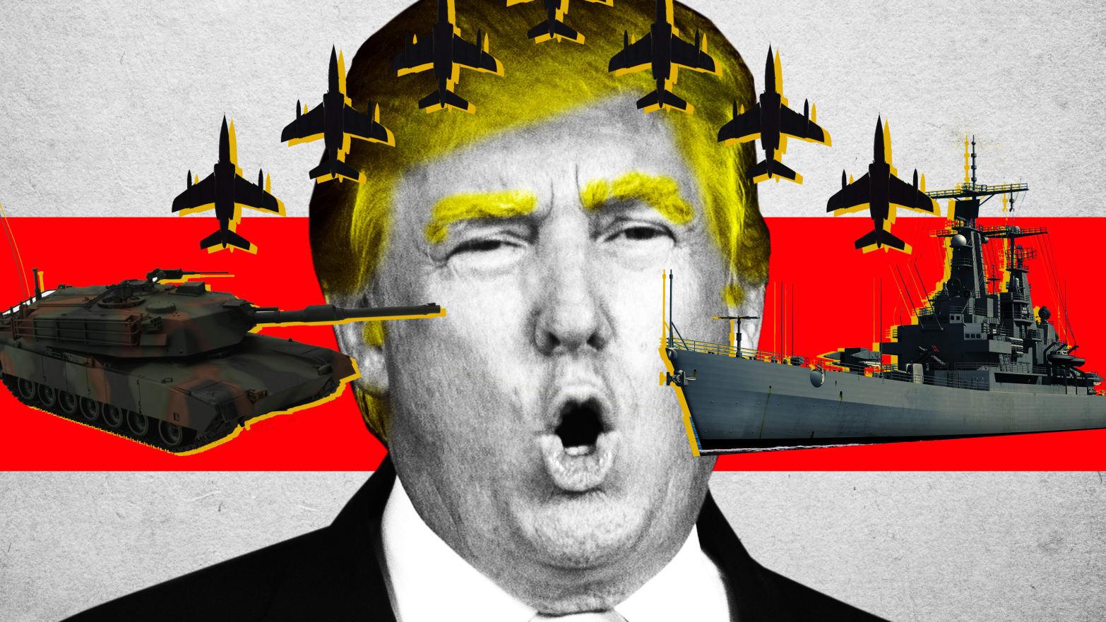 If Trump's Rage Brings 'Civil War,' Where Will the Military Stand? 191002-ravalgi-civil-war-tease_kb9axs