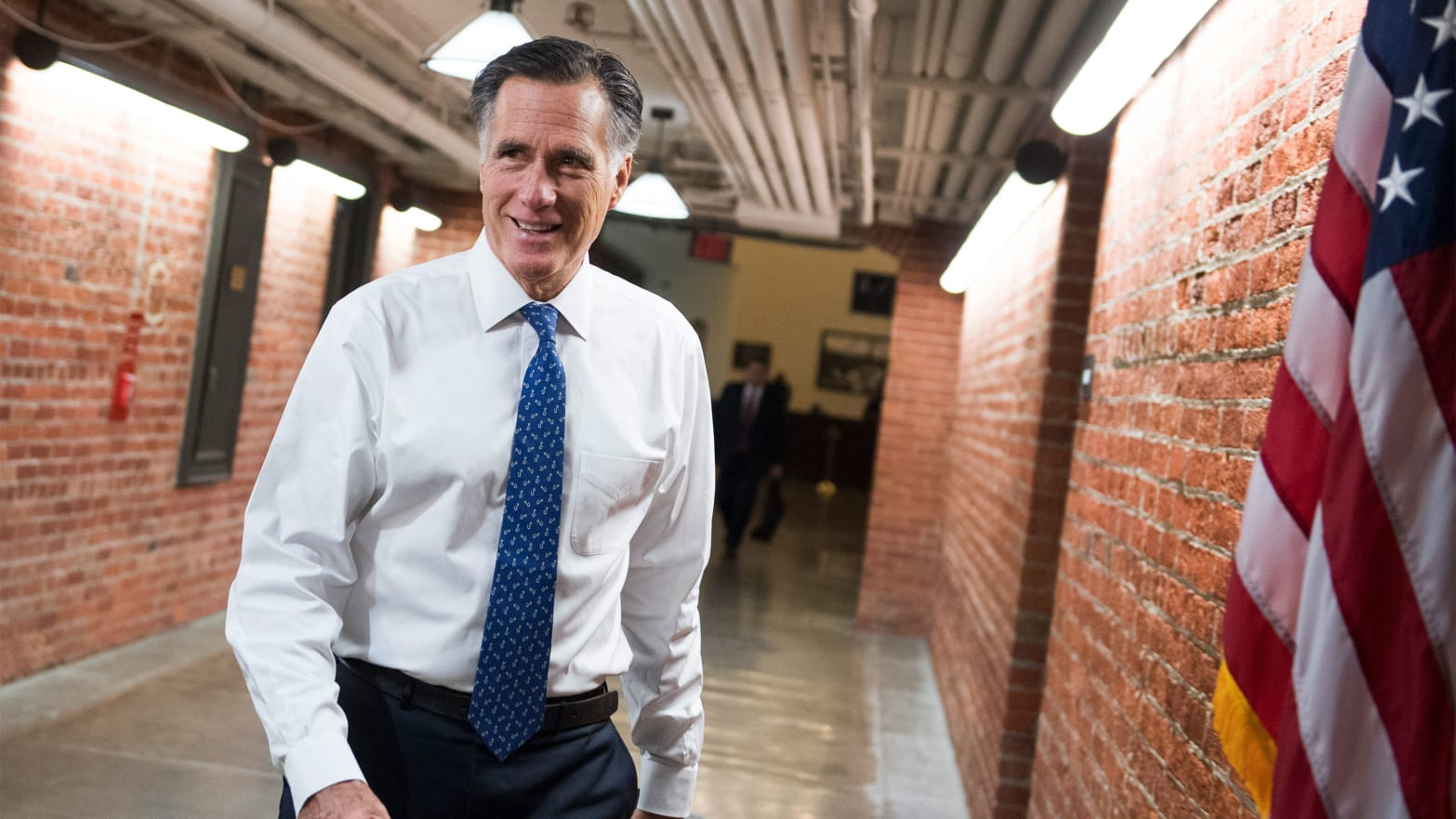All Right, Mitt Romney, It Might Be Up to You to Stand Up to Donald Trump and Help Save America