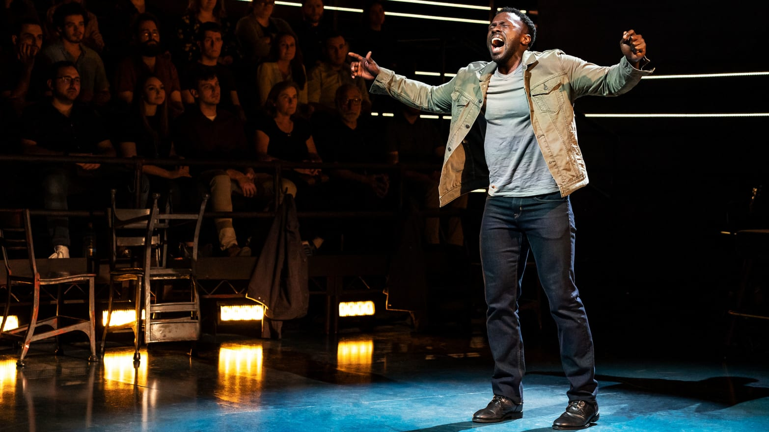 Joshua Henry Is 'The Wrong Man,' With One of the Best Singing Voices in Theater