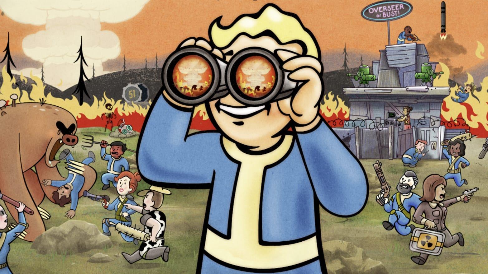 Bethesda S Fallout Class War Has Players Targeting Premium