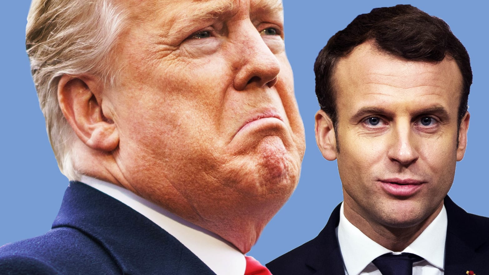 classique San Francisco plus grand choix Trump Blasts Trudeau and 'Pain in the Ass' Macron Behind ...