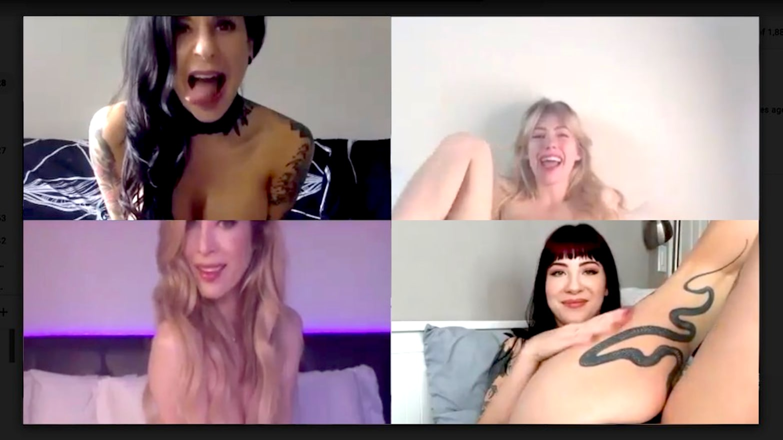 Adult Porn Memes the rise of video conferencing quarantine porn during