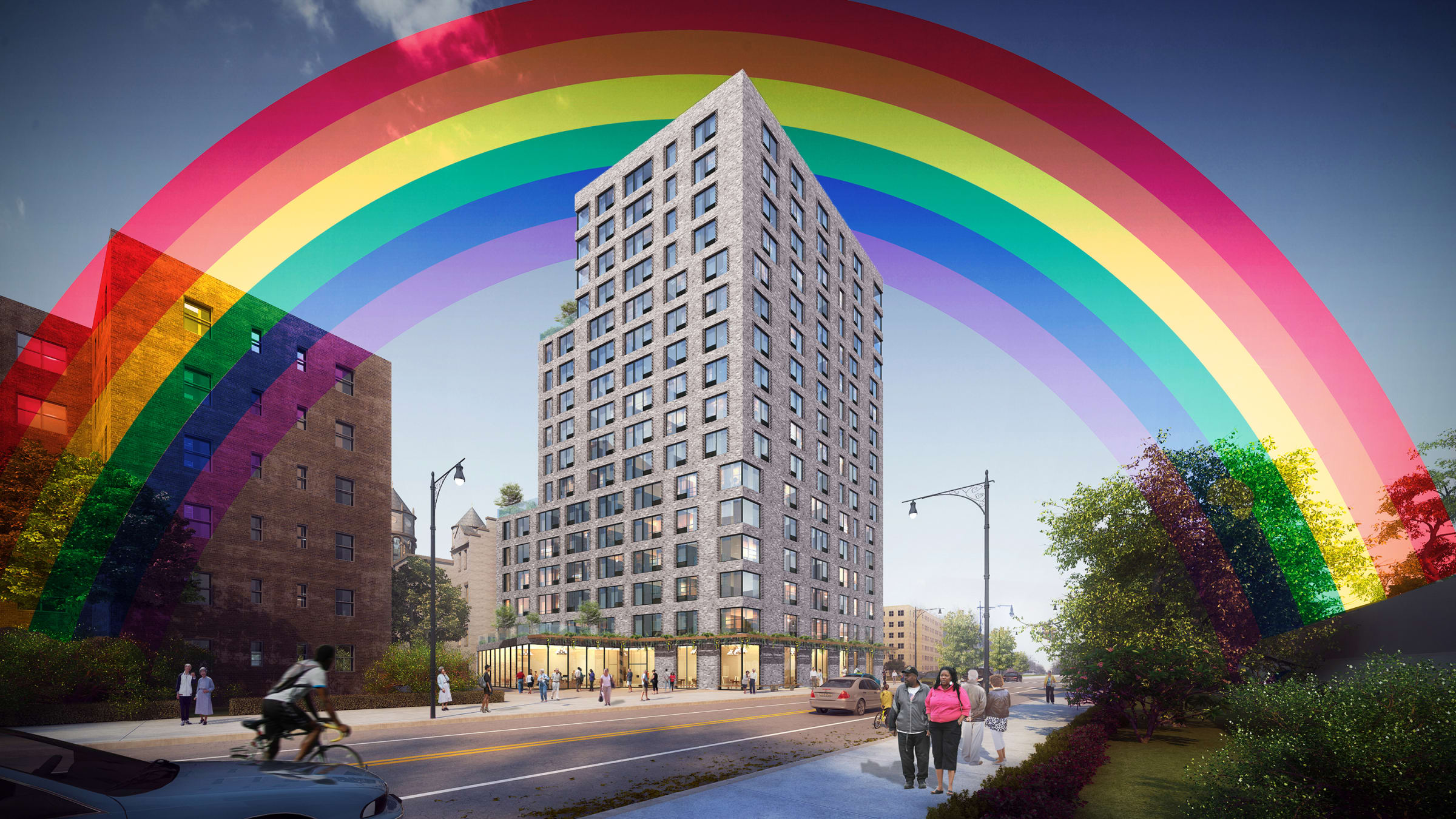 We Want To Live Not Hide Inside New York City S First Elder Housing Project